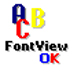 FontViewOK(字体浏览软件) V4.81 多国语言绿色版