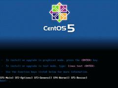 CentOS 5.1 x86_64官方正式版系统(64位)