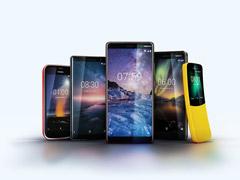 机海战术?诺基亚MWC 2018连发5款新手机