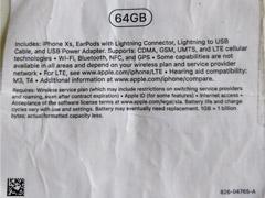 苹果iPhone Xs包装盒疑曝光