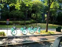 网曝搭载北斗导航的共享单车在武汉开测