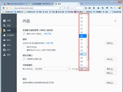 火狐浏览器如何更改字体?火狐浏览器字体更改方法分享