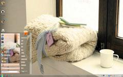 暖暖围巾win7电脑主题
