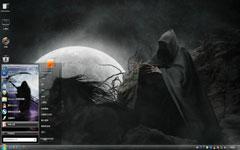 Death win7另类桌面主题
