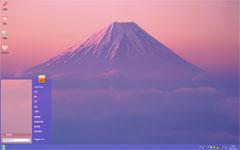 日本富士山Win7主题