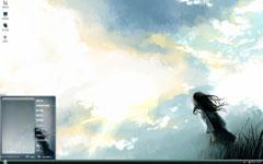 天空下的少女动漫xp主题