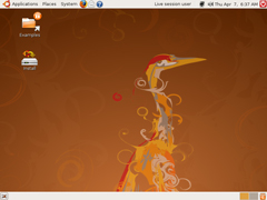 Ubuntu 8.04 i386標準版(32位)