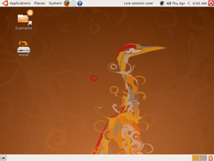 Ubuntu 8.04 標準版(64位)