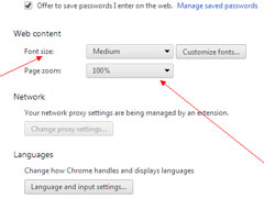 Win10系统修改谷歌浏览器字体大小的方法