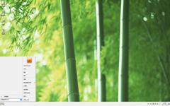 清新养眼的绿竹Win7主题