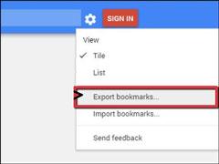 怎么把谷歌浏览器书签导出来?怎么将书签导入到别的浏览器中?