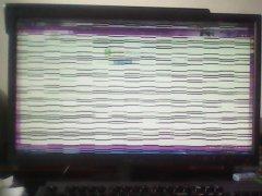 筆記本花屏怎么辦?筆記本屏幕出現條紋的處理方法