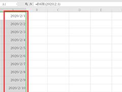 wps表格怎么自動生成日期?wps表格自動生成日期的方法
