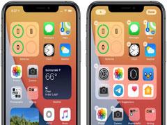 iOS14新手教程:「主屏幕」中添加小組件的方法