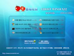 番茄花園 GHOST WIN10 32位安全專業版 V2020.10