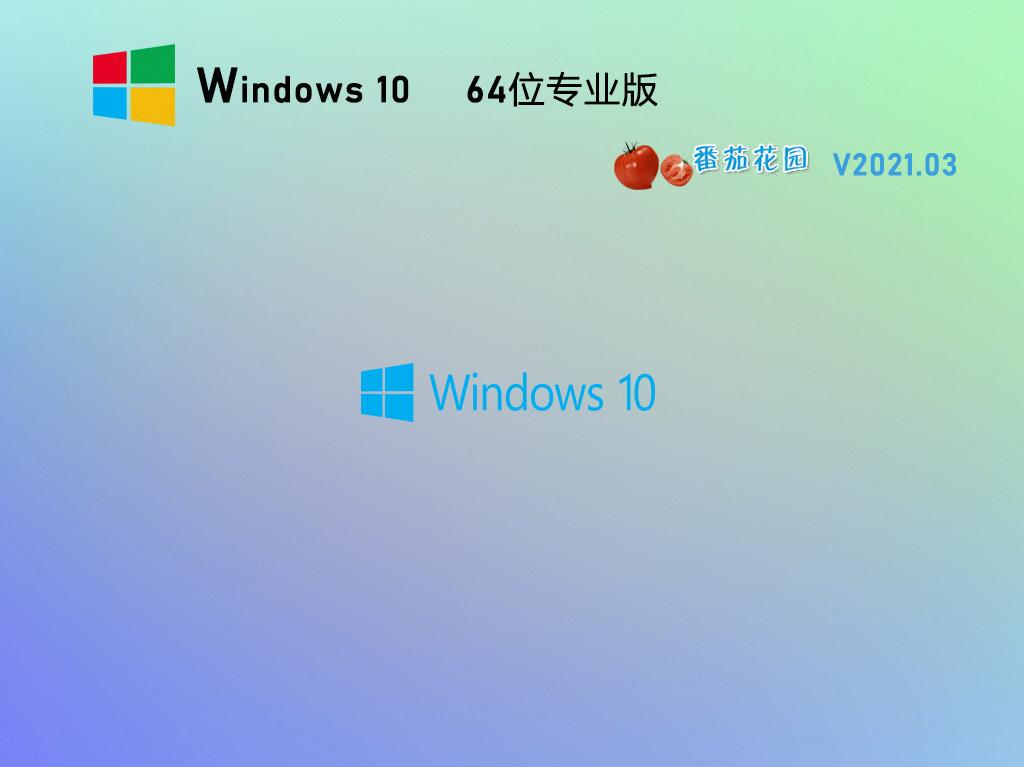 番茄花園Win10 20H2 64位專業版鏡像 V2021.03