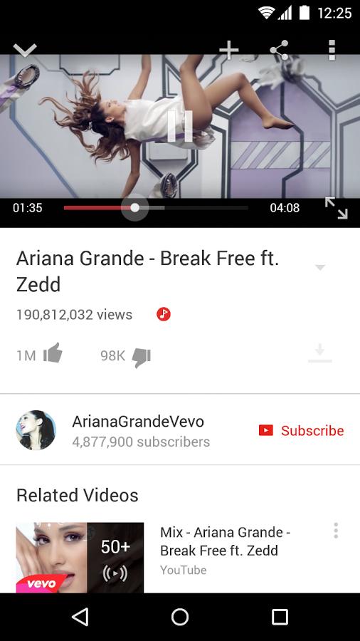 YouTube v12.11.57